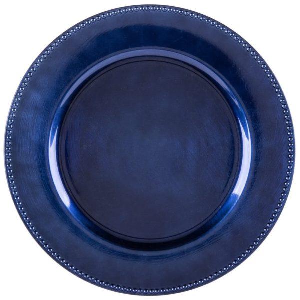 Royal Blue Beaded