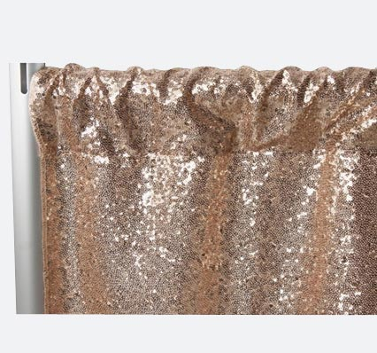Charged Up Events Backdrops Champagne Glitz